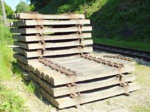 אדני רכבת מבטון